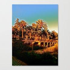 Sunny Barcelona Canvas Print