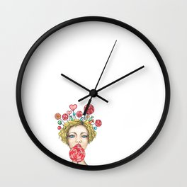 Candies Wall Clock