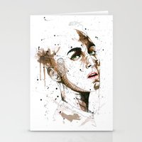 jasmine Stationery Cards featuring Jasmine by Maurice Zombie