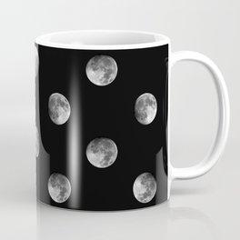 Lunar Moon - black Coffee Mug
