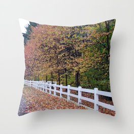 Decorative Tree Line Throw Pillow
