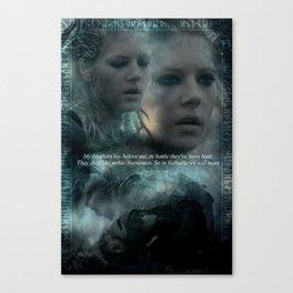In Valhalla We Will Meet Canvas Print