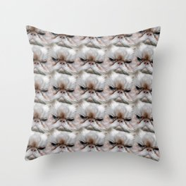 Muggles, the Sassy Cat with Cattitude! Throw Pillow