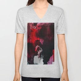 """""""You were born for this Clarke. Same as me."""" Unisex V-Neck"""