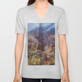 FROM THE RUBBLE Unisex V-Neck