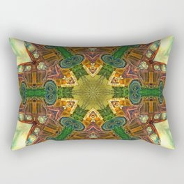 Rusty Bedford Truck Kaleidoscope Rectangular Pillow