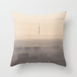 Dawning Utopia Throw Pillow