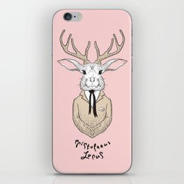 Epistolarus Lepus (pale pink) iPhone Skin