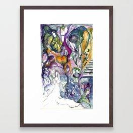 Botanical Abstract #10 Framed Art Print