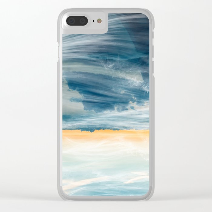 Swell Clear iPhone Case