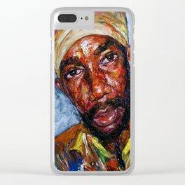 Sizzla Kalongi in The Flesh Clear iPhone Case