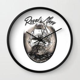 Royal Navy Wall Clock