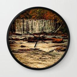 October Falls Wall Clock