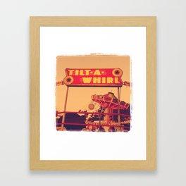 Tilt-A-Whirl Framed Art Print
