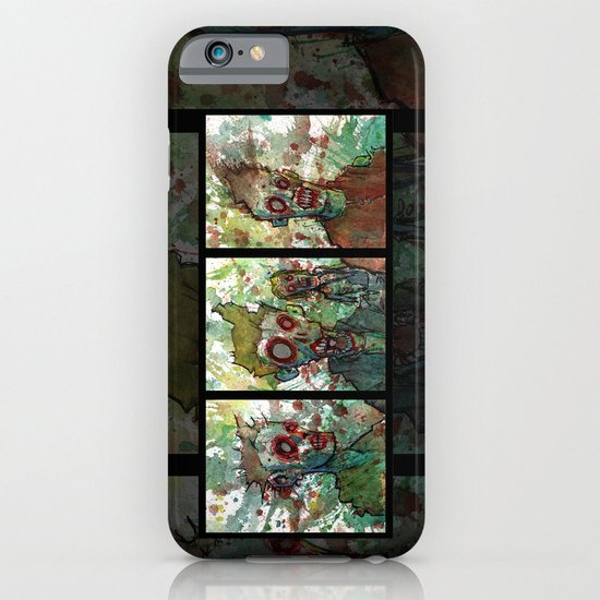 zombie triptych iPhone & iPod Case