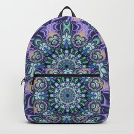 Abstract mandala with tribal patterns Backpack