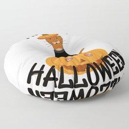 Happy Halloween Oliver! Floor Pillow