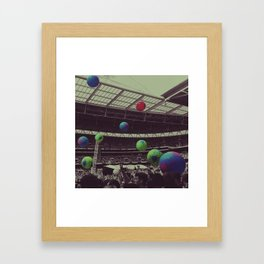 Coldplay at Wembley Framed Art Print