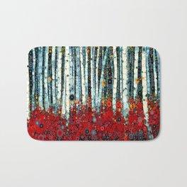 :: Begonia Birch :: Bath Mat