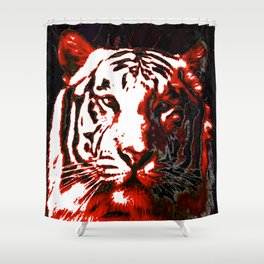 Ty- Grrr Shower Curtain