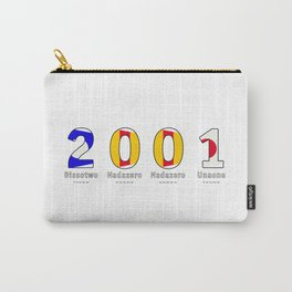2001 - NAVY - My Year of Birth Carry-All Pouch