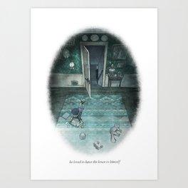 Behind You 61 Art Print