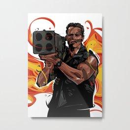 Commando-1 Metal Print