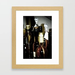 Wineography Framed Art Print