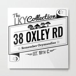 38  Oxley Road Metal Print