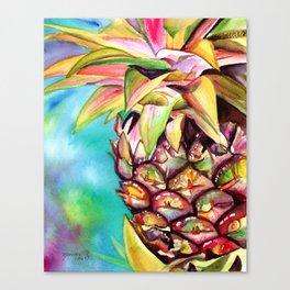 Delightful Pineapple Canvas Print