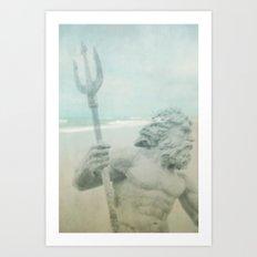 Neptune's Myth Art Print