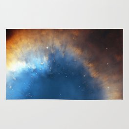 Helix Nebula Rug