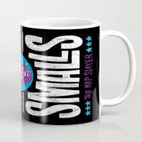 biggie smalls Mugs featuring Biggie Smalls for Mayor v.2 by Chris Piascik