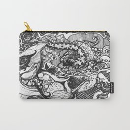 JOURNEY OF THE CATERPILLAR UPON THE OCEANS OF TIME Carry-All Pouch