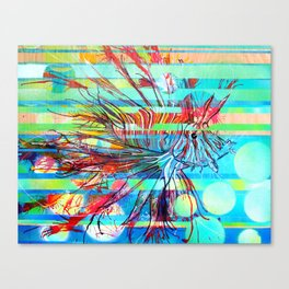 Sunshine, Snorkelling and a Lionfish in Tonga Canvas Print