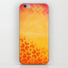 Firery Flowering iPhone & iPod Skin