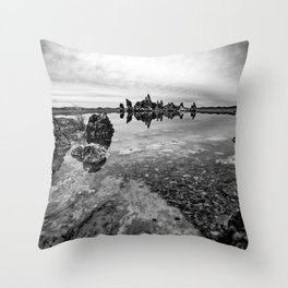 SILENCE Throw Pillow