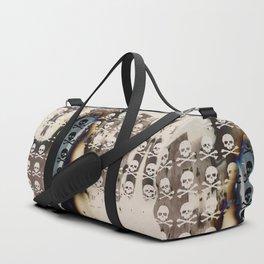 Overhead Skull and XBones: Shadow Burn Duffle Bag