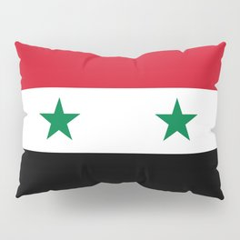 National flag of Syria Pillow Sham