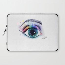 Eye see rainbows Laptop Sleeve