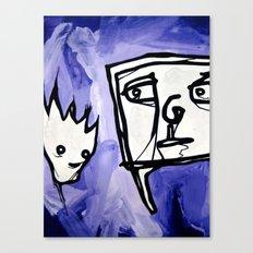 99 eyes Canvas Print