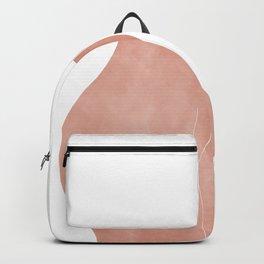 peach butt Backpack