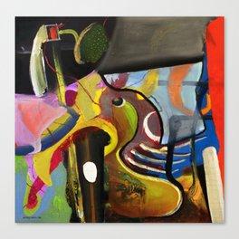 Circus Juice (oil on canvas) Canvas Print