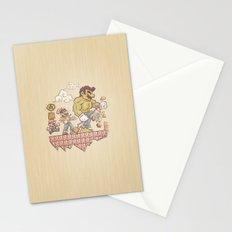 Radioactive Mushroom Stationery Cards