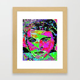 Long Live the King of Rock and Roll 2 Framed Art Print
