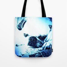 PUG LOVE ~ A Lovely Little Old Lady Tote Bag