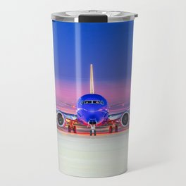 Face to face with a Boeing 737 Max 8 Travel Mug