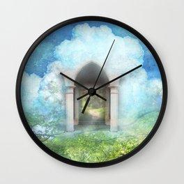 Cloud Gate Wall Clock