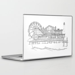 The Jersey Shore by the Downtown Doodler Laptop & iPad Skin