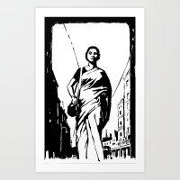 Mahanagar Art Print